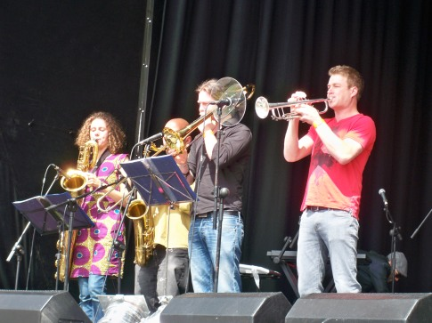 maroon town brass section