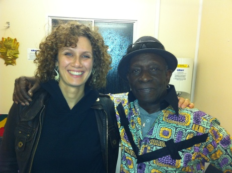 With Tony Allen @ Kaya Festival 2012