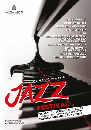 Canary Wharf Jazz Festival 2015