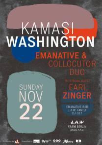 Emanative-Collocutor Duo feat. Earl Zinger in Berlin