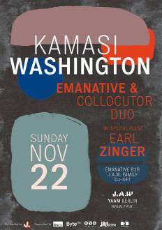 Emanative-Collocutor Duo feat. Earl Zinger in Berlin